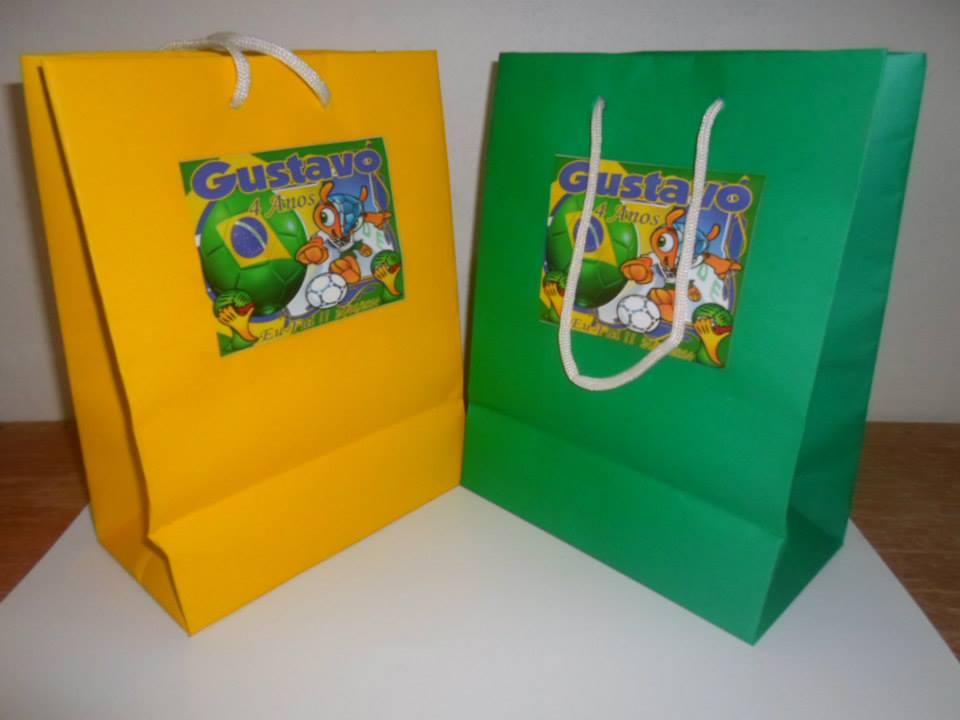 Bolsa De Festa Para O Dia : Bolsa de papel personalizada m?nimo unidades