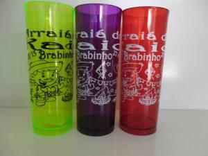Copo long drink personalizado de Festa Junina