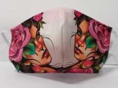 Máscara de tecido Diversas estampas (22)